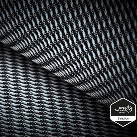 Nylonowa poliestrowa rozciągliwa tkanina ISPO Trwała wodoodporna tkanina - Rozciągliwy wątek, podwójna powierzchnia, trwała hydrofobowość, odporność na ścieranie.