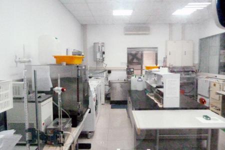 Laboratoire de lavage à température ambiante.