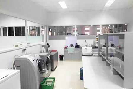 Laboratoire de lavage à température ambiante