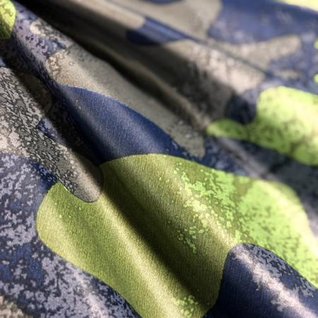 Tissu hydrofuge léger 100 % nylon imprimé 20D - Tissu hydrofuge léger à imprimé 100 % nylon 20 deniers.