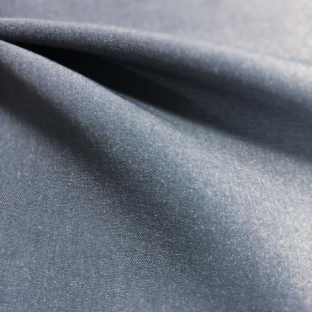 Tissu hydrofuge 70D Comfort Stretch en nylon à trame - Tissu hydrofuge 70 deniers extensible confortable à trame en nylon.
