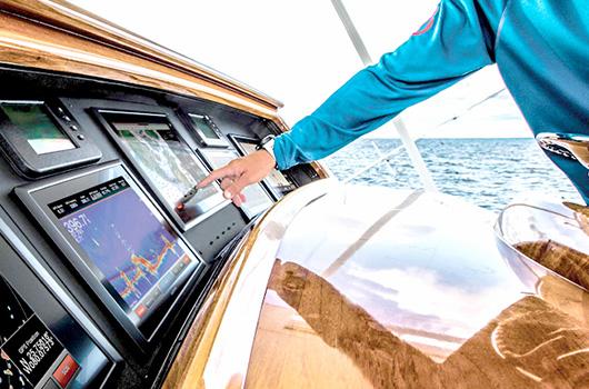 Транспортные приложения с сенсорным экраном AMT