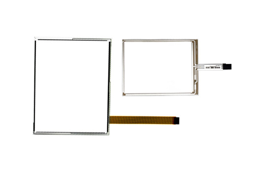 4, 8-wire Resistive Touch Screen