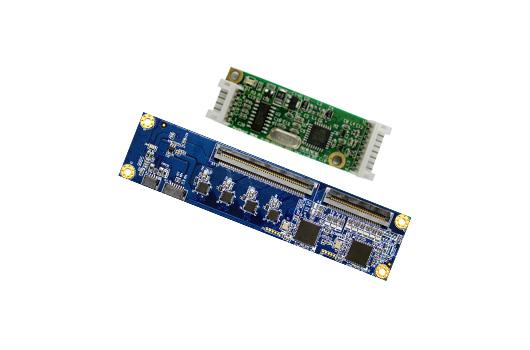投射式电容和电阻式触控控制器组装