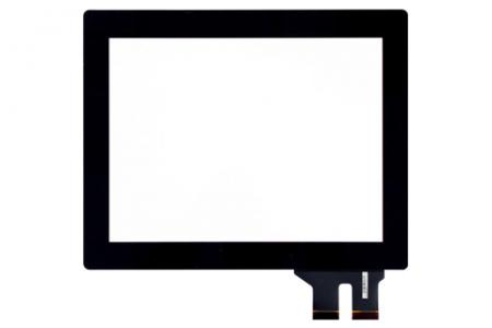 Projected Capacitive Touch Screen - AMT projected capacitive touch screen FPC-tail