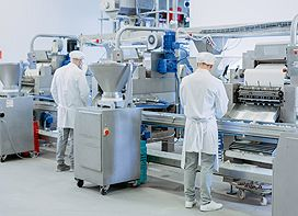 Food processing Industrial Touch