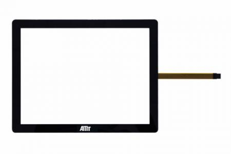Framed Touch True-Flat Resistive Touch Screen - Framed Touch True-Flat Resistive Touch Screen-Black