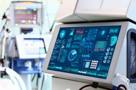 Медицинское приложение с сенсорным экраном AMT