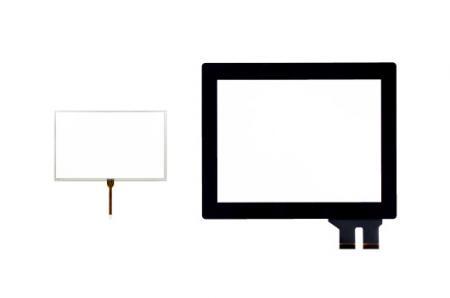 Disegni standard AMT - Disegno standard del touch screen