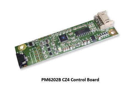 Carte de contrôle à écran tactile résistif Interface RS-232 et USB - Carte de contrôle PM6202B CZ4