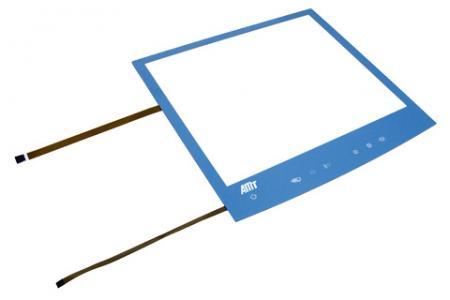 Touch Window全平面电阻式触控面板-蓝色