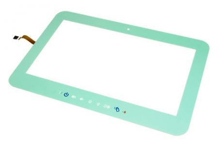 Touch Window全平面電阻式觸控面板 - Touch Window全平面電阻式觸控面板-綠色