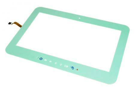 Écran tactile résistif véritable à fenêtre tactile - Écran tactile résistif True-Flat à fenêtre tactile - Vert