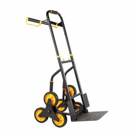 Stair Climbing Hand Truck is suitable for all kinds of occasions that need to be transported up and down, reducing handling injuries.