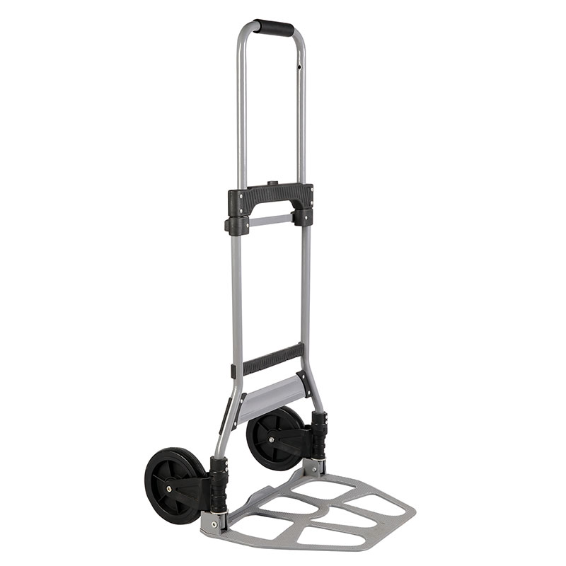 Material of steel industrial folding hand truck fully meets standard of market requirement