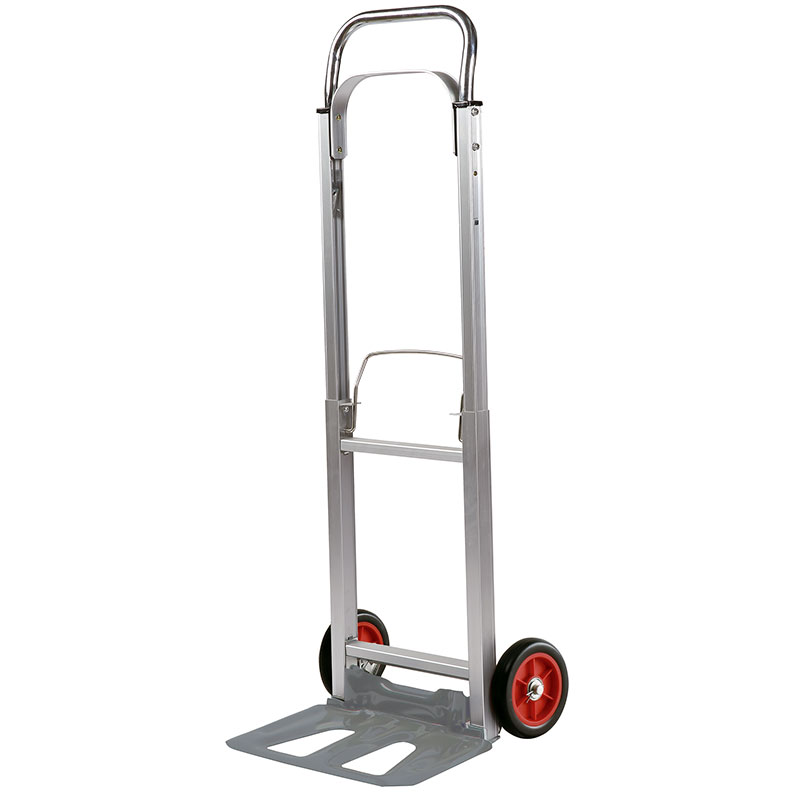 One of 20 ft container is able to fit 800 pieces of folding aluminum heavy-duty hand truck.