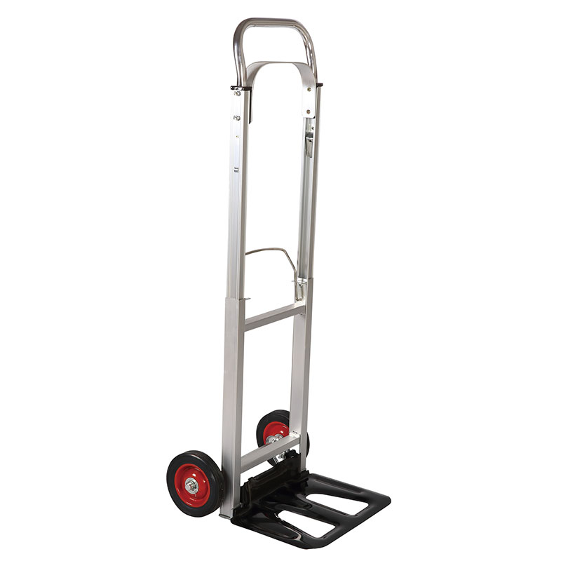 Folding aluminum lightweight hand truck sells extremely excellent in European countries.