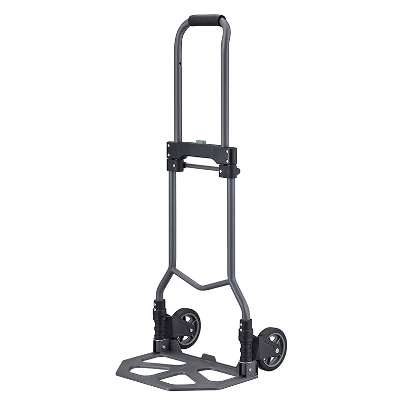 Large plate steel folding hand truck manufactured by professional hand truck factory.