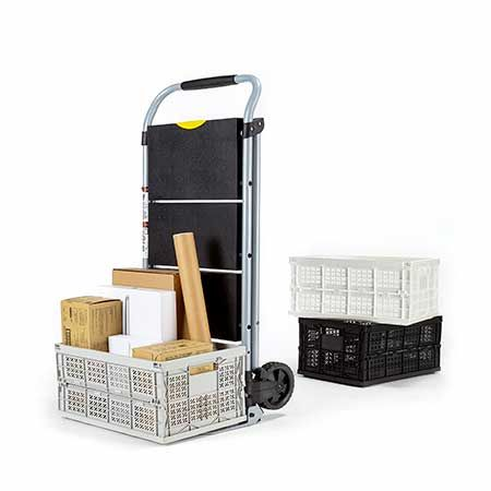 Folding Steel Household Convertible Hand Truck (Loading 90 kg) - We manufacture and export full range hand truck to business customers worldwide.