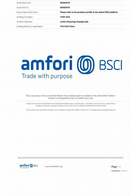 BSCI - Business Social Compliance Initiative Certification