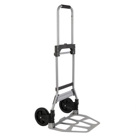 Folding Steel Industrial Sturdy Hand Truck (Loading 100 kg) - Material of steel industrial folding hand truck fully meets standard of market requirement