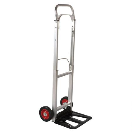 Folding Aluminum Lightweight Hand Truck (Loading 90 kg) - Folding aluminum lightweight hand truck sells extremely excellent in European countries.