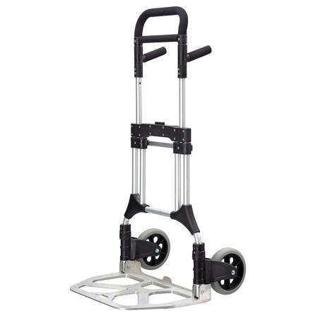 Folding Aluminum Commercial Multi-Purpose Hand Truck (Loading 200 kg) - Professional hand trolley manufacturer