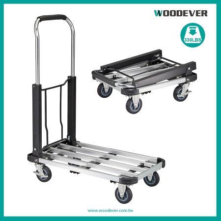 Extendable Metal Platform Cart Maker (Loading 150 kg)