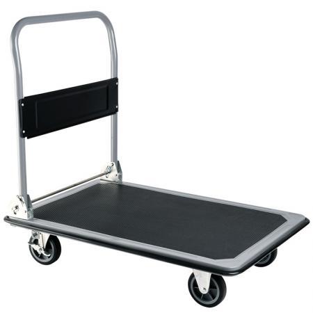 折疊專業載重平板GS認證手推車 (荷重300公斤) - 專業級推車製造商