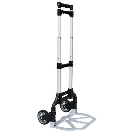 Folding Aluminum Household Hand Truck (Loading 75 kg) - We manufacture tens of thousands hand trolley annually.