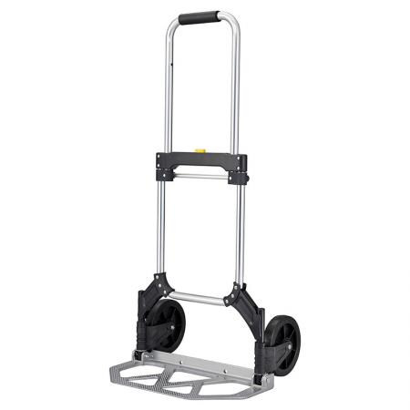Folding Aluminum Portable Lightweight Hand Truck (Loading 80 kg) - Complete range of alunminum trolley factory