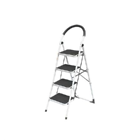 4-Steps A-Line Single Side Collapsible Light Steps Ladder(Loading 150 kg) - The folded pipe diameter thickness of this ladder is 0.9 mm.