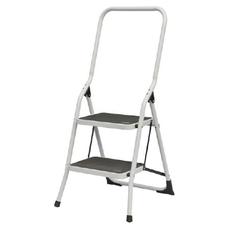 2 Steel D Type Collapsible Multi Functional Steps Ladder(Loading 150 kg) - The extension size of the ladder is 106*53*49.