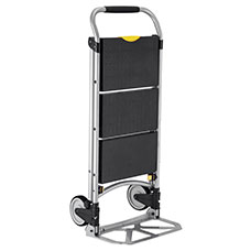 Folding Steel Household Hand Truck with Ladder.