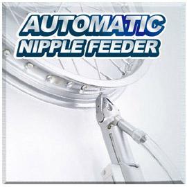 Allacciatrice automatica per ruote / Alimentatore automatico per capezzoli