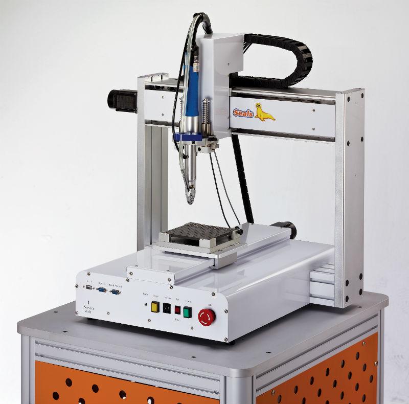 रोबोट प्रकार स्वचालित स्क्रू फीडर - रोबोट प्रकार स्वचालित पेंच फीडर (मॉडल: मुख्यमंत्री-टेबल) (समारोह: बुद्धिमान का पता लगाने)