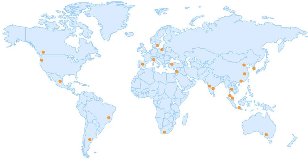 MAG-SEALS ng Mga Kinatawan sa Pagbebenta ng Internasyonal