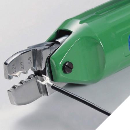 Air Terminal Crimping Plier for insulated terminal - Crimping Plier of non-insulated terminal ( air terminal crimper )