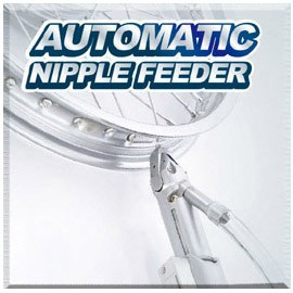 Automatic Wheel Lacing Machine - Automatic Wheel Lacing Machine / Automatic Nipple Feeder