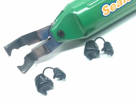 Pinza pneumatica per il bloccaggio delle boccole antistrappo