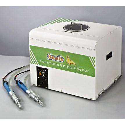 สกรูป้อนอัตโนมัติแบบชามสั่นสะเทือนสำหรับชุดไขควงสองตัว - สกรูป้อนอัตโนมัติแบบสั่นชามสำหรับชุดไขควงสองชุด(รุ่น:CM-502(ปริมาตร:M3 x 15 2000 ชิ้น)(ความจุ:50 ชิ้น/นาที)
