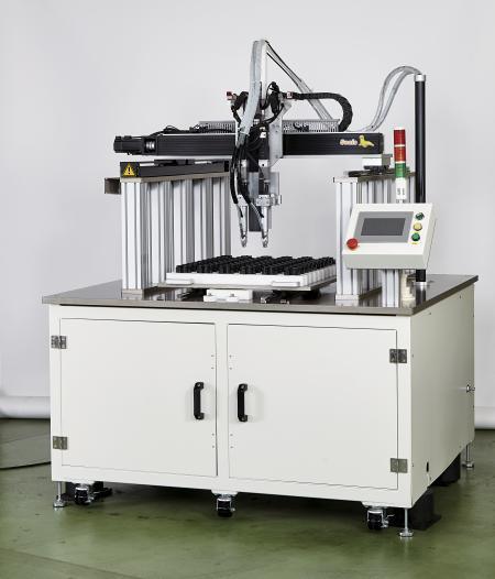 Gantry Type XY Table เครื่องขันสกรูอัตโนมัติ - Gantry Type XY Table เครื่องขันสกรูอัตโนมัติ (รุ่น: CM-TABLE-GANTRY) (คุณสมบัติ: เวลาป้อนสกรู 0.2 วินาที)