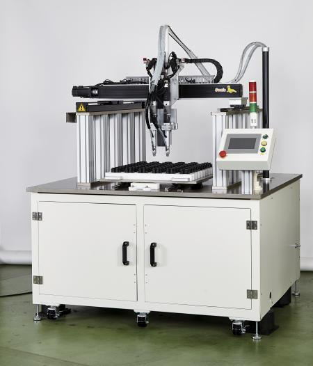 Gantry Type XY Table Automatic Screw Fastening Machine - Gantry Type XY Table Automatic Screw Fastening Machine(Model:CM-TABLE-GANTRY)(Features: screw feeding time of 0.2 seconds)