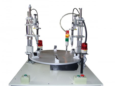 Index Table Automatic Screw Feeder Fastening System