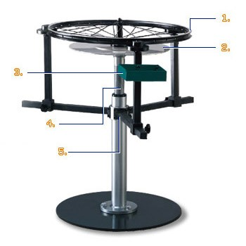 Floor Type Wheel Building Stand