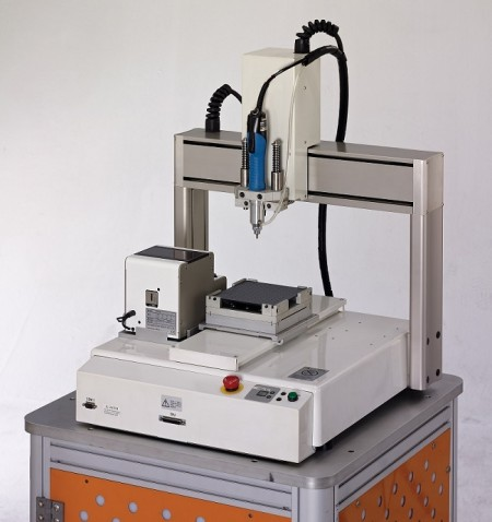 Alimentatore automatico a vite con presa a vuoto tipo robot - Tipo di robot Alimentatore automatico a coclea a vuoto (Modello: CM-TABLE-V) (Funzione: rilevamento intelligente)