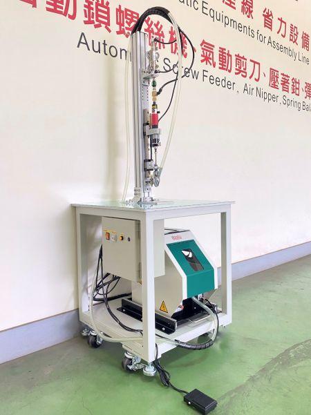 การป้อนสกรูอัตโนมัติแบบแกนเดี่ยว - การป้อนสกรูอัตโนมัติแบบแกนเดี่ยว (รุ่น: CM-100)