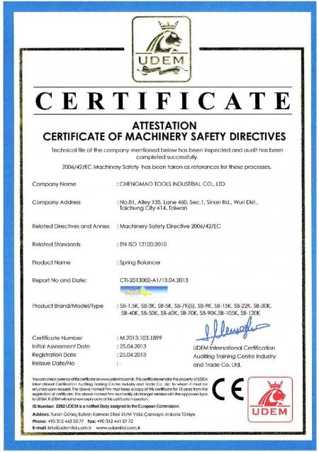 Certificato CE