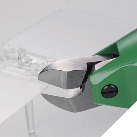 Pinças de corte de plástico pneumático - O cortador de plástico Air Nipper