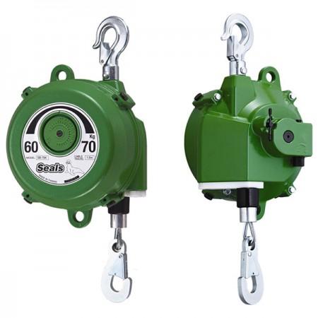 Bilanciatore a molla, 60kg~70kg, senza gravità - Strumento di sospensione della molla di bilanciamento (modello: SB-70K) (capacità: 60 kg-70 kg)